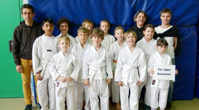 Seeheimer Karateka starten beim Heian-Kata-Cup