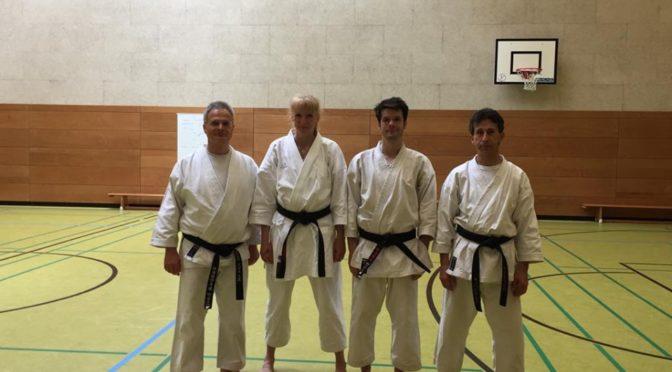Das Karate-Dojo Seeheim rüstet auf