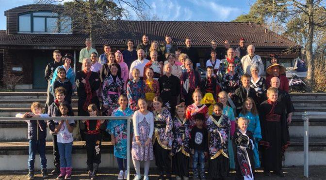 Erlebnisreicher Jahresstart bei den Seeheimer Karatekas