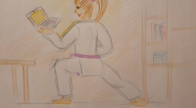Karateka trainieren auch Online