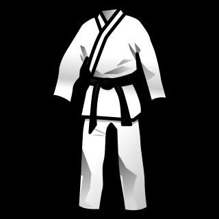 Bekleidung mit unserem Karate Logo